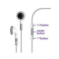 200pcs/lot**In ear earbuds Earphone With Remote Mic an volume control for iphone 5 4 4G 4S Ipad 2 3 4