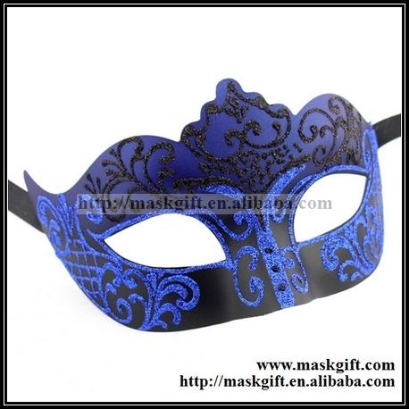Free Shipping 48pcs/lot Venetian Masquerade Masks Party AB002-BLBK 100% Handemade Luxury Halloween Masquerade Party Masks(China (Mainland))