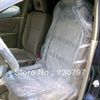 10 pcs Auto Car Repair Service Disposable Plastic Seat Covers