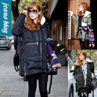 Fashion down coat Winter jacket,winter outerwear winter color clothes women thick jackets Parka Overcoat Tops WXNH 802