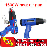 220V / 110V BEST 8016 LCD 1600W Handheld Adjustable Heat Air Gun Hot Air gun, Free Shipping