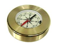 Free shipping  wholesales golden compass /outdoor navigation compass