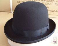 1pcs free shipping Quality pure wool fedoras cap general hat jazz hat  ladies cloche felt hat large size hat