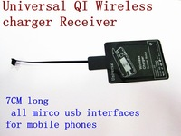 Qi Universal  Wireless Charger Receiver Millet 2s Meizu MX Huawei for HTC THL  lenovo Samsung qi generic micro usb all used