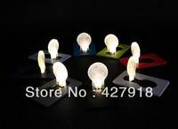 Free shipping new arrival hot sale 30pcs/lot Portable Pocket Mini LED Card Light Lamp Torch