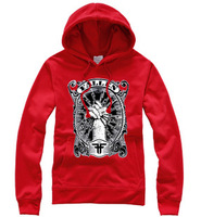 Hot hip-hop skateboard hoodies 100% cotton men's casual sweater pullover sweatshirt jacket