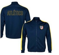 Top Thai version 13-14 latest atletico Madrid sapphire N98 jacket, sportswear clothing