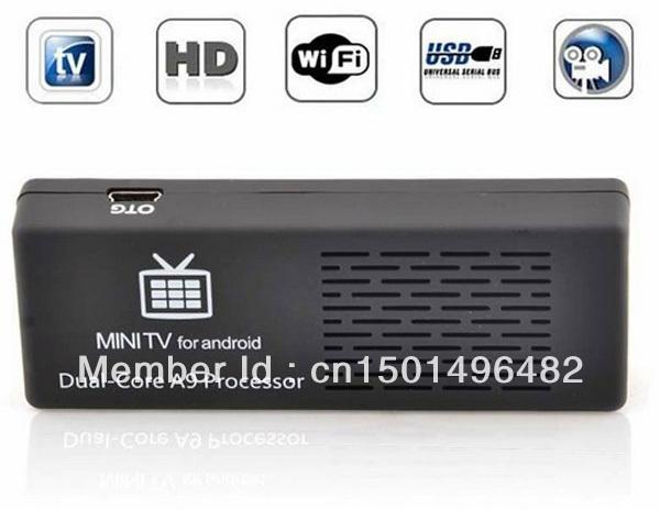 Mk808 Mini PC Android 4.1 TV Box Google TV Player Dual Core Rockchip RK3066 1.6GHz Cortex-A9(China (Mainland))