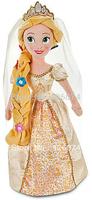 Free Shipping New 2014 Original Tangled Wedding Rapunzel Princess Plush Dolls For Girls Gifts Kids Toys 50cm