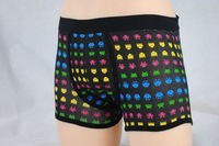 2013black and black boxer short underwear/mens boxer/sexy underwear/mens underwear/the underwear hot free ship