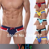 Hotsale Mens Sexy bikini Briefs Men Swimming Trunks Shorts Briefs Men Quick Dry Sheer Mens Underwear Penis Gay Underwear MU1009A