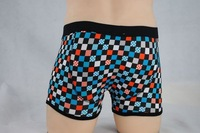 2013black white red yellow and blue boxer underwear/mens boxer/sexy underwear/mens underwear/the underwear hot free ship