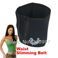 4 Steps Slimming Trimming Sauna Sweat Tummy Belt Girdle +Free Shipping