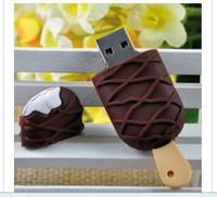 Hotsale l 4GB 8GB 16GB 32GB ice cream USB Flash Disk 100% Full Capacity Free Shipping