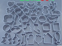 Cartoon fruit biscuit mold / cake / chocolate mold set 30P Cake Model