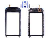 touch screen digitizer for nokia C7 touch screen with frame New and original MOQ 1 pcs/lot 15-26 days free shipping +tool