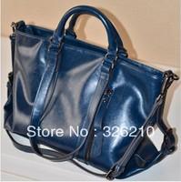 New arrived vintage fashion motorcycle bag genuine leather women messenger bag