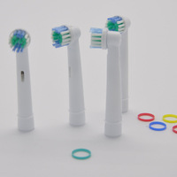 DHL Free shipping 400pcs Soft Bristle oral electric toothbrush heads head EB17-4