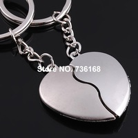 Free shipping (3 pairs/lot) anel de corassao chave fine bijoux key chain love zinc alloy fashion jewelery key ring for couple