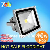 Free Shipping 10W 20W 30W 50W 70W 100W LED Flood Light IP65 Waterproof 85-265V high power outdoor RGB Changeable Floodlight Lamp