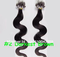Nice Hair Indian Body Wave Hair Extensions Micro Loop Ring 100g A lot of colors All express and free shipping