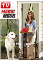 Magic Mesh The fast easy way to keep fresh air in bugs out 60PCS Free shipping