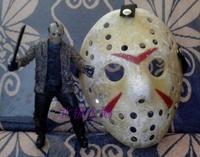 free shipping Jason the whole network retro finishing  mask  Cosplay costume macka mascara Halloween Masquerade maske maska