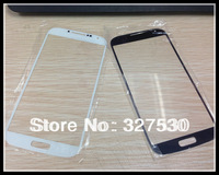 For Samsung S4 / 9500 Front screen cover glass replace Brand All new  High quality  White &Black DHL Free Shipping