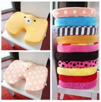 Cartoon memory cotton slow rebound bottom cushion,bear thickening cushion chair mats Panda / Rilakkuma / hello kitty / SpongeBob