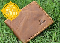 Free shipping Yuangu dull polish cow leather men wallets + one Iphone4 case