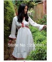 White Folk Style Skirts High quality
