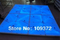 Wholesale 10PCS Per LOT 1M*10M/2M*5M Led Dance Floor Disco Party Light with Fast Free Shipping