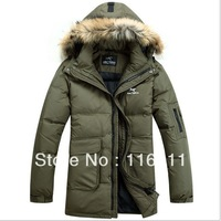 2013 the newest winter clothes  men's  down  coat thicken jacket  super warm British Style (YR0025)