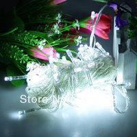 Wholesale Price Holiday Decoration Christmas Led UK Plug 220v 10m 100 leds String Lights With 8 Display Mode Fedex Free Shipping