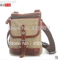 2014 HOT SALE:Canvas bag fashion vintage casual  sport bag outside backpack MUCHUAN BAG