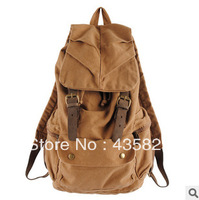 Free shipping 2014 HOT : Canvas  student school bag cotton  casual travel backpack. Hot sale