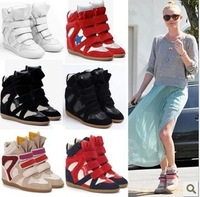 HOT New Fashion Women Fall Winter High Top Sports Sneakers Ladies Isabel Marant The increased Shoes Flats Boots For Woman