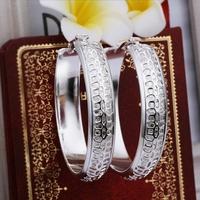 2014 925 sterling silver hoop earrings for men women jewelry box drop shipping