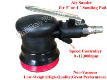 Air lixadeira orbital aleatório ferramenta pneumática Poder Ação Polidor Air dupla palma Sander não-vácuo do Buffer(China (Mainland))