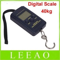 500pcs/lot  # 40kg - 20g Weight Digital Scale Handy Scales Hanging Luggage Fishing Pocket Scale Hook Portable Free Shipping