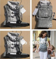 2013  the newest big branded 100% cotton suspenders GREY STAR COLOR/ PINK Backpacks & Carriers Baby carrier sling Baby bags