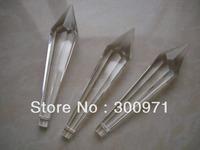 200pcs/lot  80mm crystal prism trimming ,crystal chandelier parts, crystal prism drop pendant for chandelier parts