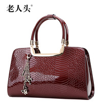 LAORENTOU women leather handbags new 2014 ladies' handbag vintage cowhide female evening bags famous brands designers totes