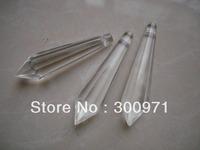 200pcs/lot  60mm crystal chandelier trimming ,crystal chandelier parts, crystal prism drop pendant for chandelier parts