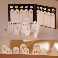 200 Pages Cute Ten Fingers Sticker Post-It Bookmark Flags Memo Sticky Notes Pads