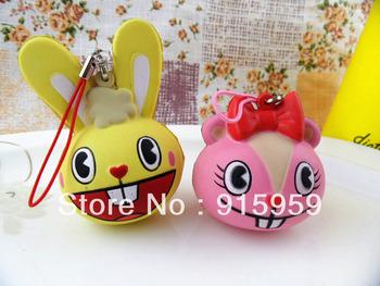 20pcs/lot  rabbit Squishy  cake Squishy Cell Phone charm /squishy buns free shipping  wholesales