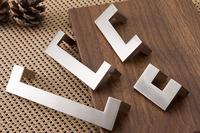 Cabinet Drawer Furniture Handle Pull Hardware(C.C.:32mm,Length:46mm)