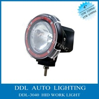 "Free shipping 9-32V 35W/55W 4"" Flood Beam,Truck fog lamp,hid driving light ,HID off road light,hid work light ,"