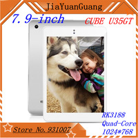 CUBE U35GT 7.9-inch tablet  RK3188 A9 quad-core  1.8GHZ 16GB 1024 * 768 HD retina screen) white