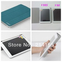 Free Shipping 1x screen protector + 7.9 inch speical leather stand case cover for chuwi v88/ Chuwi V88S with sleep function